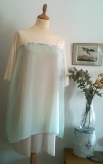 Vestido Agua Water dress 42€