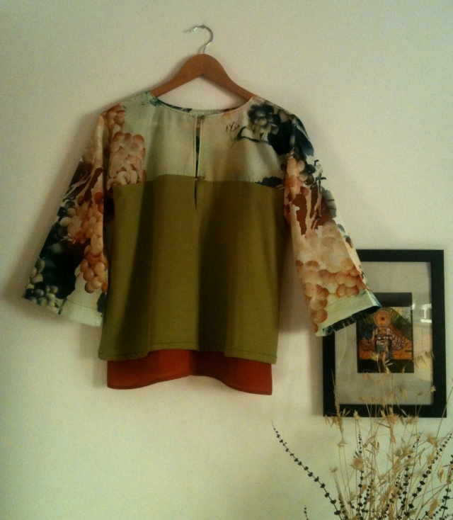 Blusa verde Green blouse 65€